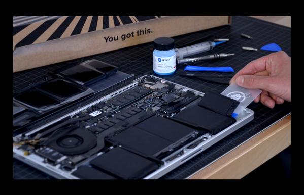iFixit、Retina MacBook Proのバッテリー修理キットを発売