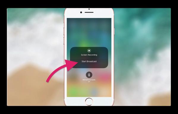 「iOS 11 beta 3」には将来的なライブストリーミング機能を暗示か