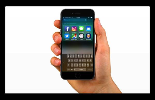 「iOS 11」でiPhoneの片手用キーボードを有効にする方法
