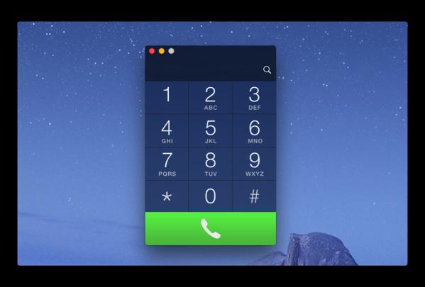 MacからHandoffを利用して、サクッと電話をかける・受けられる「Keypad」