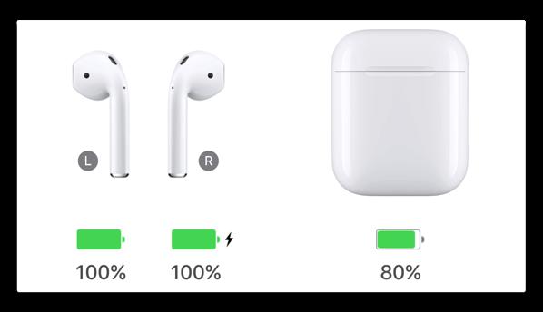 【Mac】Macで「AirPods」や「BeatsX」のバッテリの正確な残量を表示する