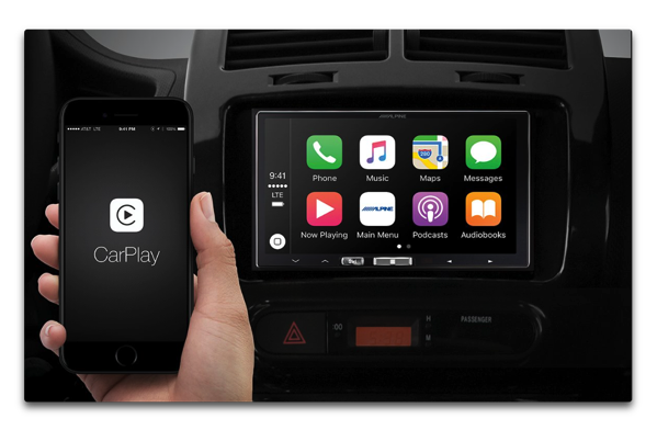 Alpine Electronics of America、ワイヤレスApple CarPlayを販売開始