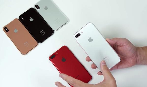 ダミー「iPhone 7s plus」を「iPhone8」と「iPhone 7 Plus」と比較するビデオ
