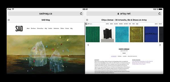 「iOS 11」、Safariでは二本指タップはバックグラウンドでページをオープン