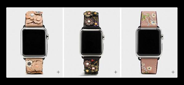 コーチ、6種類のApple Watch バンドのオータム・コレクションを発表
