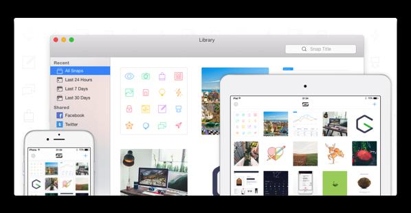 MacとiOSで同期が出来る、無料のスクリーンショット&アノテーションアプリ「Snappy」