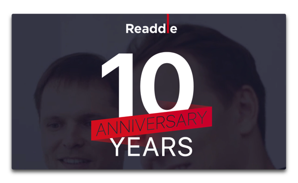 【Sale情報/iOS】Readdle、10周年を記念して50%オフで「10周年記念パック」