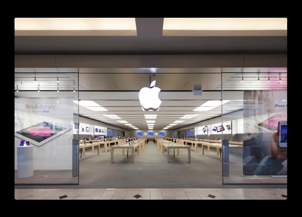 Apple Retail Storesはショッピングモールの価値を高める夢のテナント