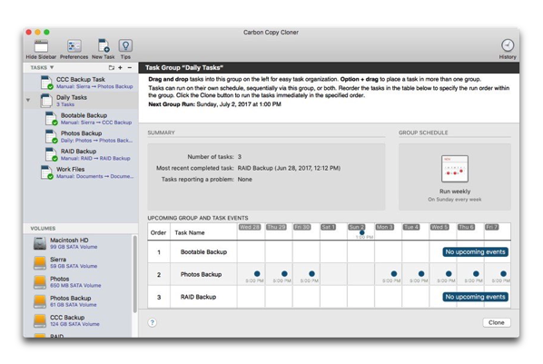 【Mac】APFSの互換性をサポートした「Carbon Copy Cloner 5」、ベータ版をリリース