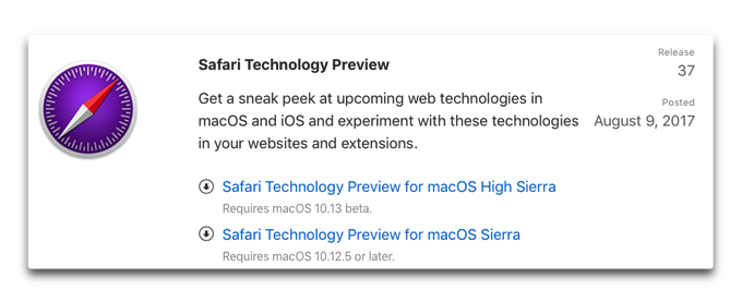 SafariTechnologyPreview 001