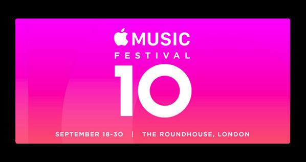 Apple、10間開催したロンドンでの「Apple Music Festival」を終了