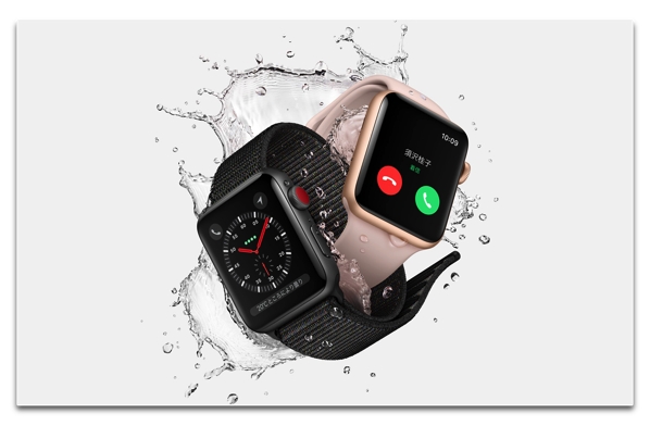 au、「Apple Watch Series 3」LTEモデル用の「ナンバーシェア」を¥350/月提供