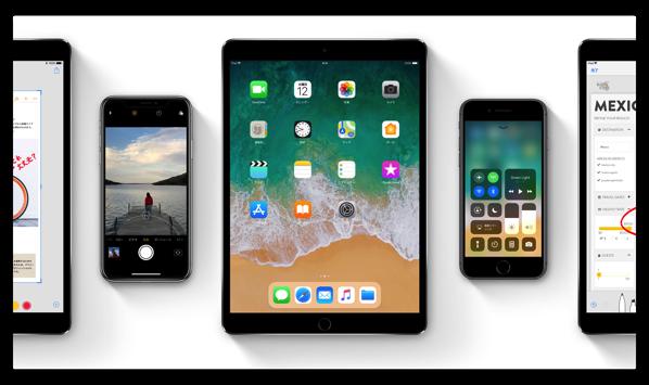 「iOS 11」リリース後、約1週間で25%の普及率