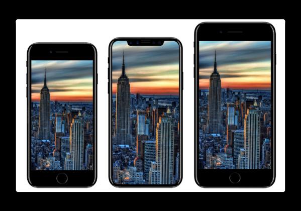 iOSファームウェアで今秋リリースされるiPhoneは「iPhone 8」「iPhone 8 Plus」「iPhone X」
