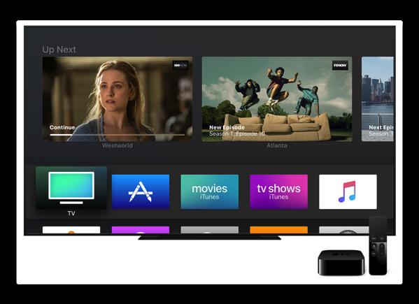 Apple、「tvOS 11.1 beta (15J5559d) 」を開発者にリリース