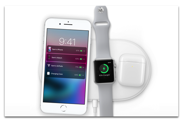 iPhone 8/X、Apple Watch のワイヤレス充電の長所と短所
