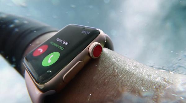 Apple、「Apple Watch Series 3」を正式発表、予約は9月15日、発売は9月22日