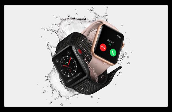 ソフトバンク、「Apple Watch Series 3 (GPS + Cellularモデル)」が利用できるオプションを¥350/月で