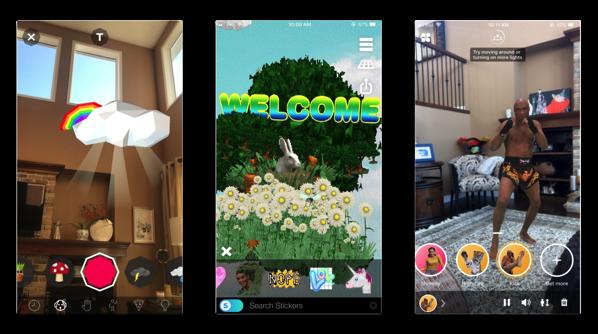 「iOS 11」、写真に拡張現実を利用できるアプリ