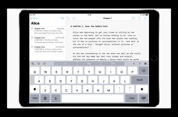 【iOS】テキストエディタ「iA Writer 5」まもなくリリース予定