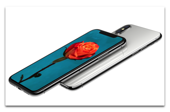 Apple、「iPhone X」の初回注文需要は4,000~5,000万台、株価は終値と日中最高値を記録