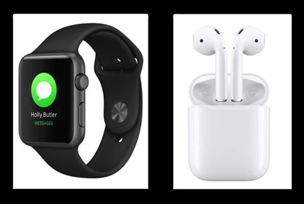 サプライヤーがAirPodとApple Watch Series 3の販売から2017年第4四半期の売上高を予想