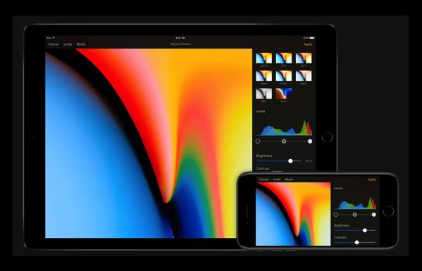 【iOS】「iOS 11」をサポートした「Pixelmator for iOS 2.4」がリリース