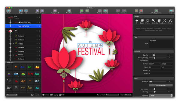 【Sale情報 / Mac】ベクター描画ソフトウェア「Logoist 3」リリース記念で50%オフ
