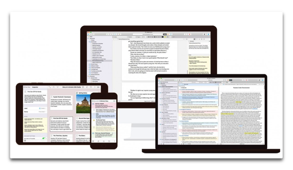【Mac】Literature & Latte、テキストエディタ「Scrivener 3」をMac App Storeで販売開始