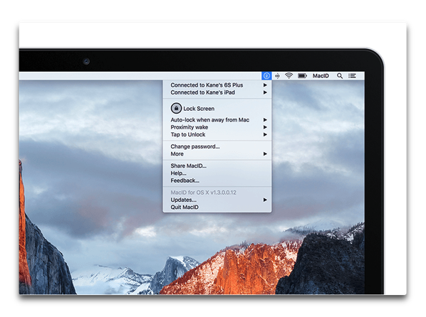 【Mac/iOS】「macID 2」は、「Face ID」でMacのロック解除で間もなくリリース