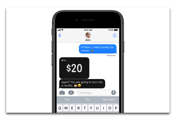 「Apple Pay Cash」が「iOS 11.2 beta」「watchOS 4.2 beta」で利用可能に