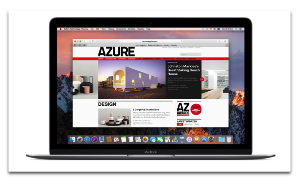 【Mac】Apple,Payment Request機能が有効になった「Safari Technology Preview Release 44」を開発者にリリース