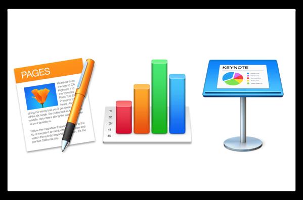 【Mac】Apple,安定性およびパフォーマンスを向上した「Pages 6.3.1」「Numbers 4.3.1」「Keynote 7.3.1」をリリース