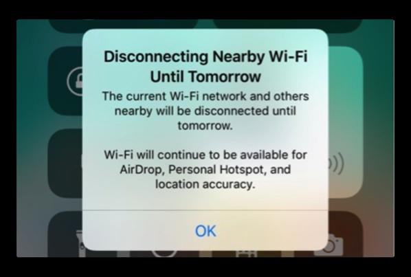 「iOS 11.2 Beta 3」では、コントロールセンターのWi-FiとBluetooth機能を説明するポップアップを追加