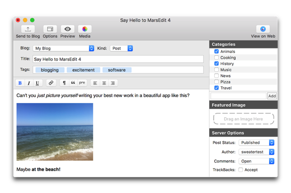 【Mac】ブログエディタ「MarsEdit 4」がリリース、前バージョンからアップデートの割引を受ける方法