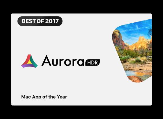Mac App StoreのBEST OF 2017は「Aurora HDR 2018」「The Witness」