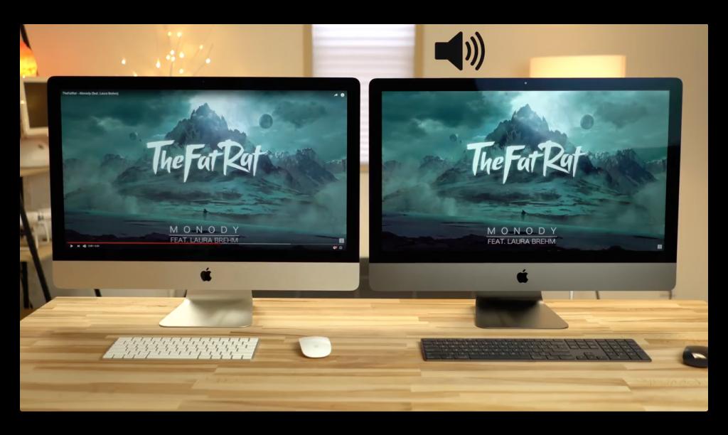 「iMac Pro」vs「iMac 5K」、スピーカー&FaceTimeカメラを動画で比較