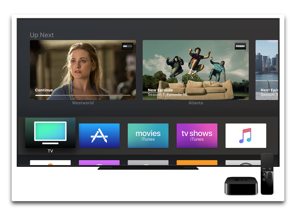 Apple、「Apple TV 4K」と「Apple TV(第4世代)」向けに「tvOS 11.2.1」正式版をリリース
