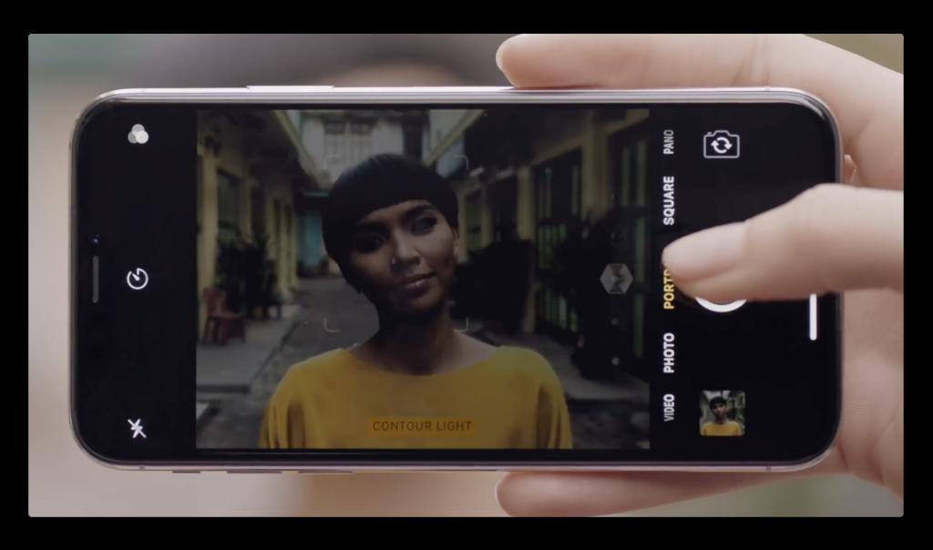 Apple、iPhone Xのポートレート照明に焦点を当てた新しいCM「iPhone X — A New Light」を公開