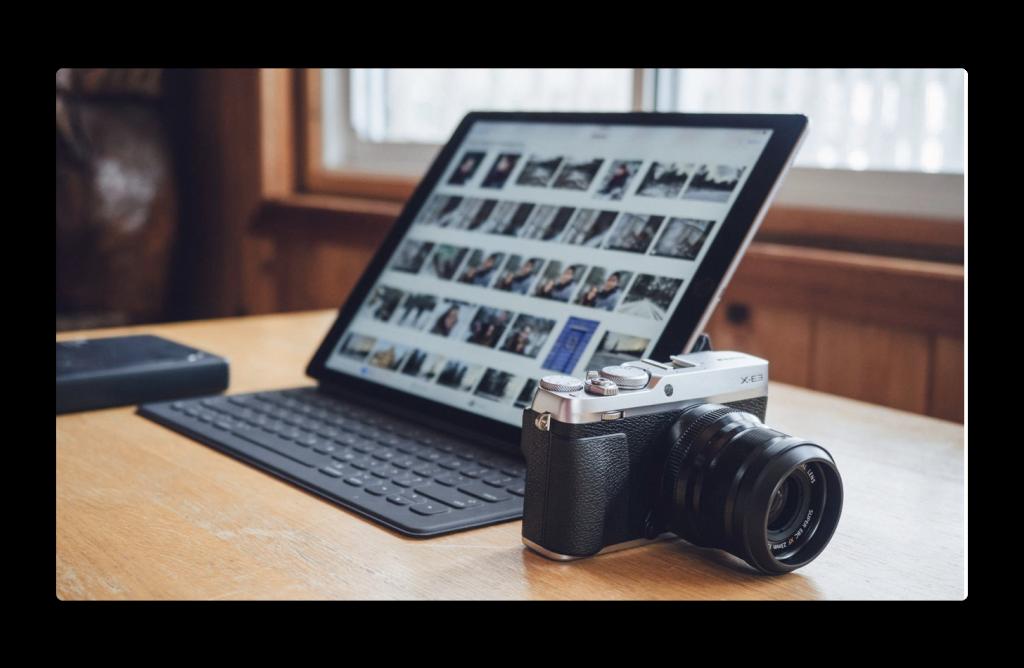 写真ワークフローにiPadを使用する