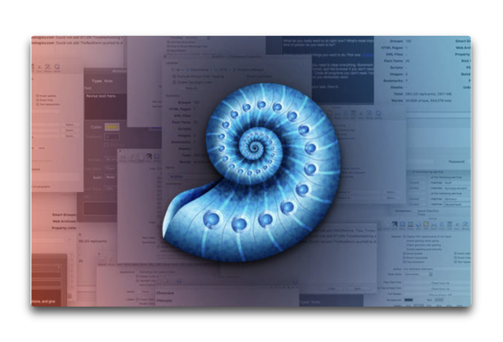 【Sale情報 / Mac】文書および情報ソリューション「DEVONthink Pro」が50%オフ