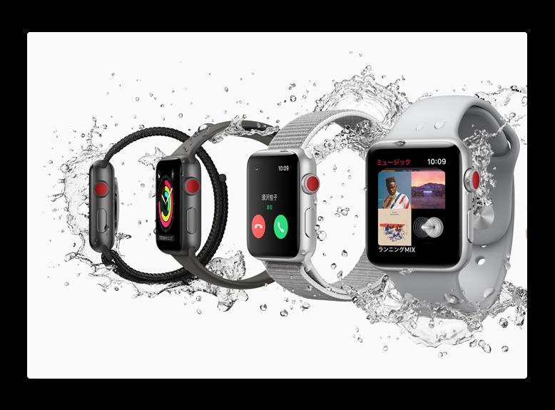 2017年に1800万台のApple Watcheが出荷され、2016年の54%増