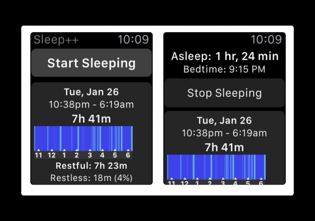 【iOS/Apple Watch】睡眠トラッカー「Sleep++」がバージョンアップで自動スリープをサポート