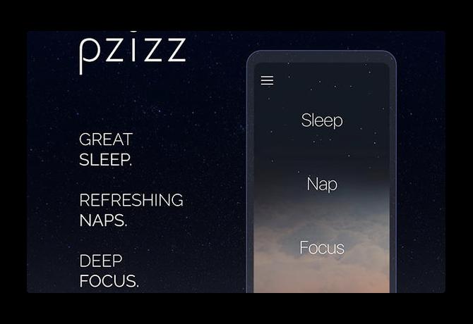 【iOS】眠りに素早く落ち、ぐっすり眠れ、気分がリフレッシュされる睡眠システム「Pzizz」