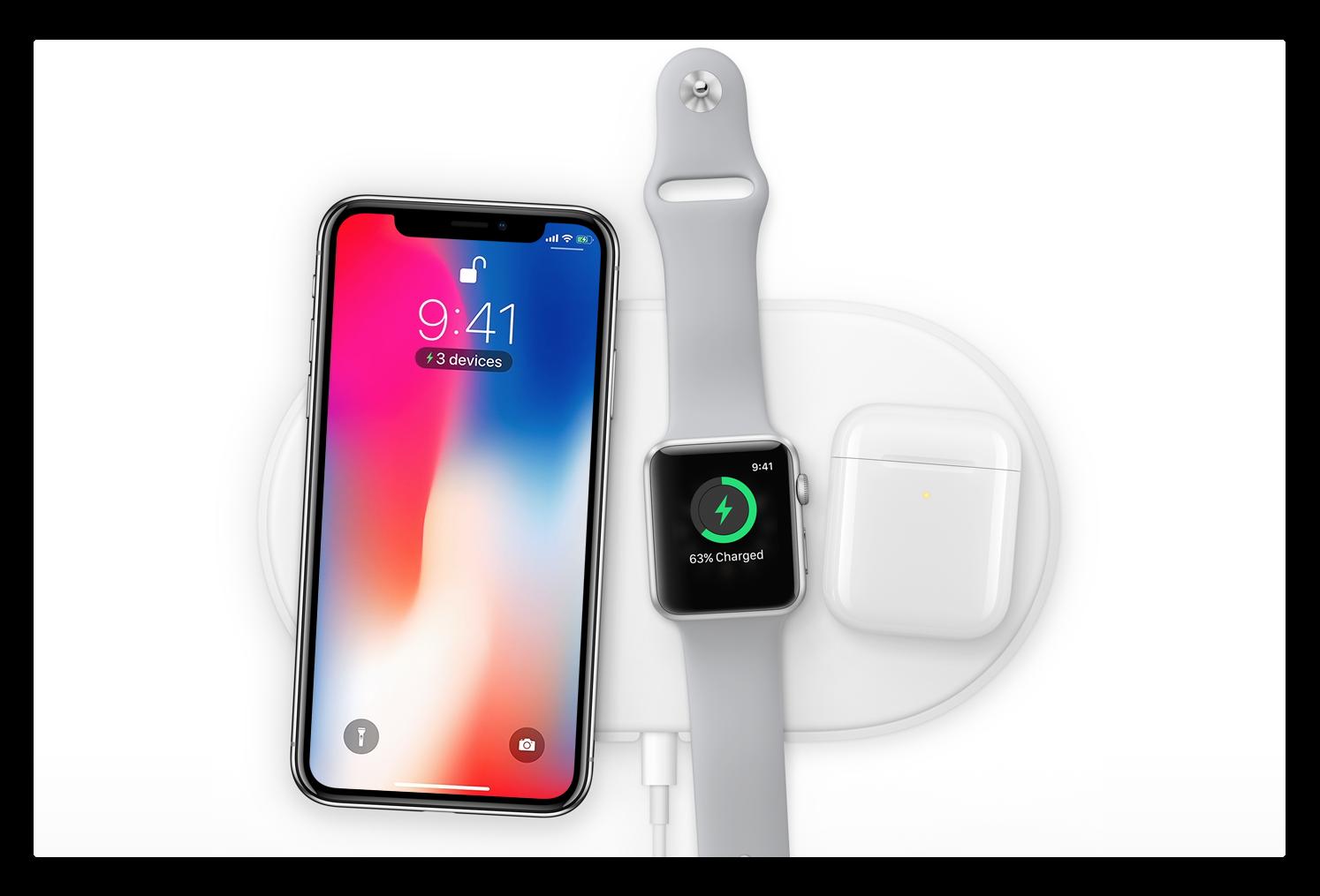 iPhone X/8でのワイヤレス充電はケーブル充電よりバッテリの消耗が早くなる