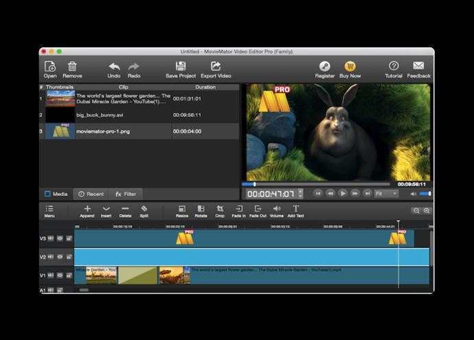 Video Editor MovieMator Pro 002