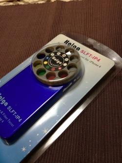 【iPhone】8種類のレンズフィルター+マクロが楽しい「Holga SLFT-IP4」