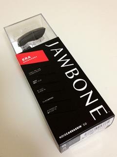 【iPhone】ヘッドセット「JAWBONE ERA」を購入