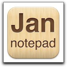 【iPad】「Jan Notepad HD」が今だけ無料