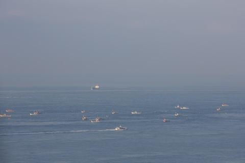 春を告げる、2013年いかなご漁解禁日